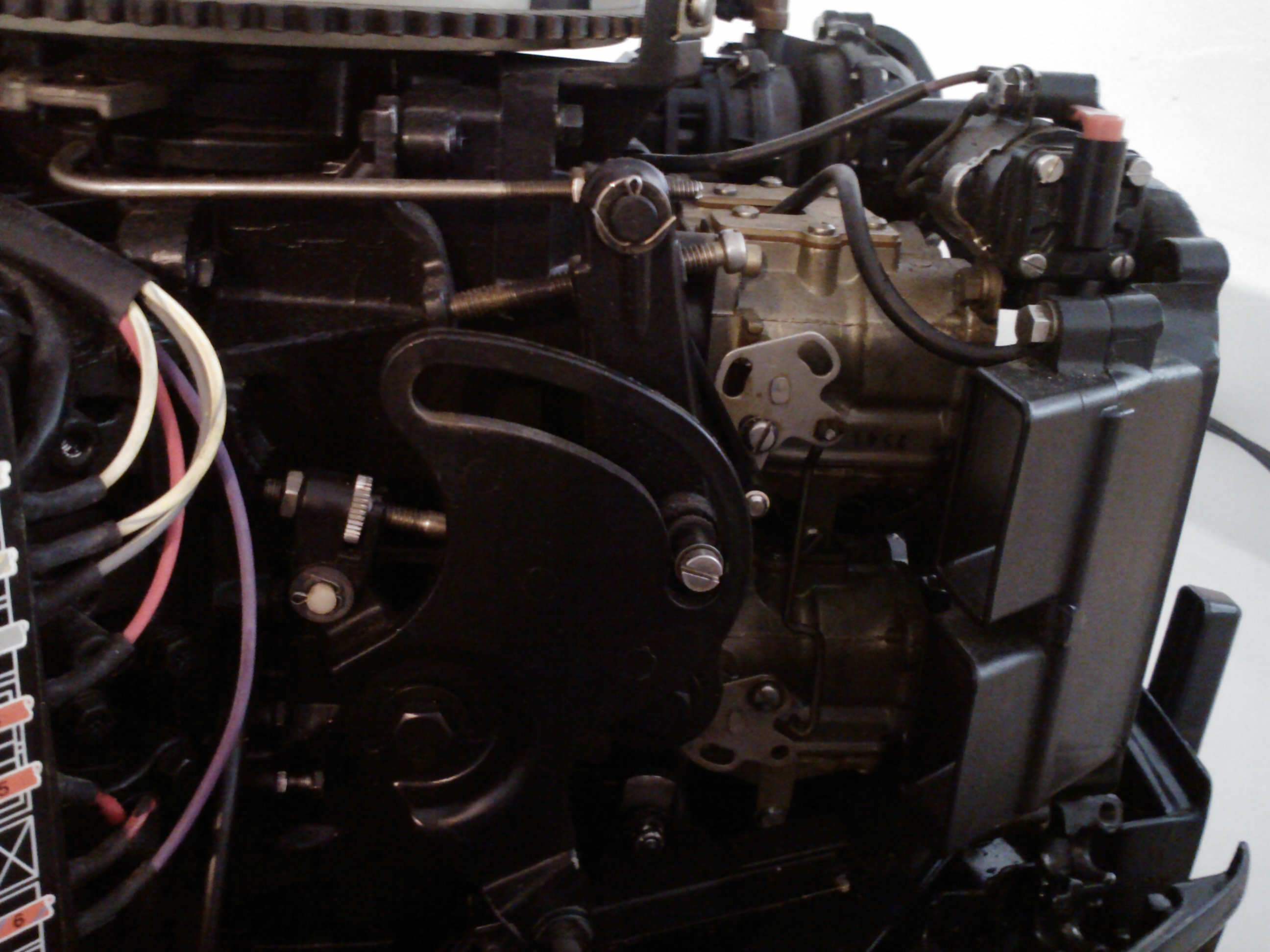 1989 110 hp Evinrude 20 in shaft I just replace the shift and