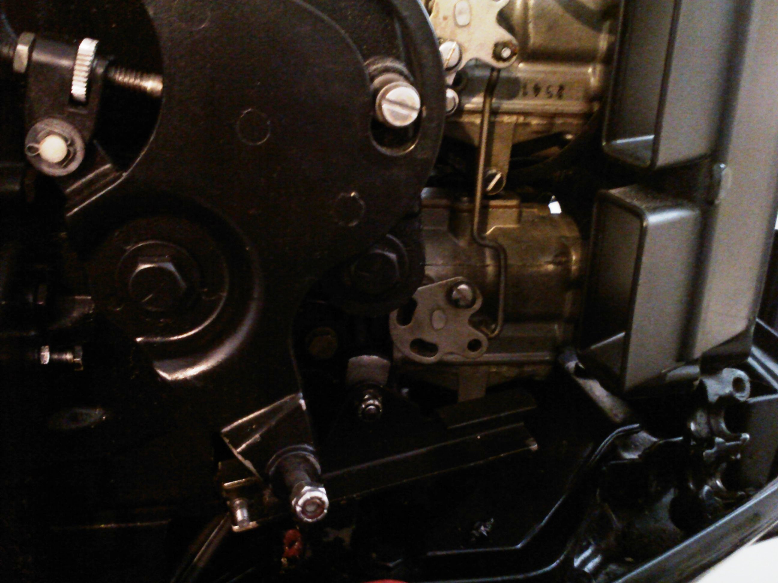 1989 110 hp Evinrude 20 in shaft I just replace the shift