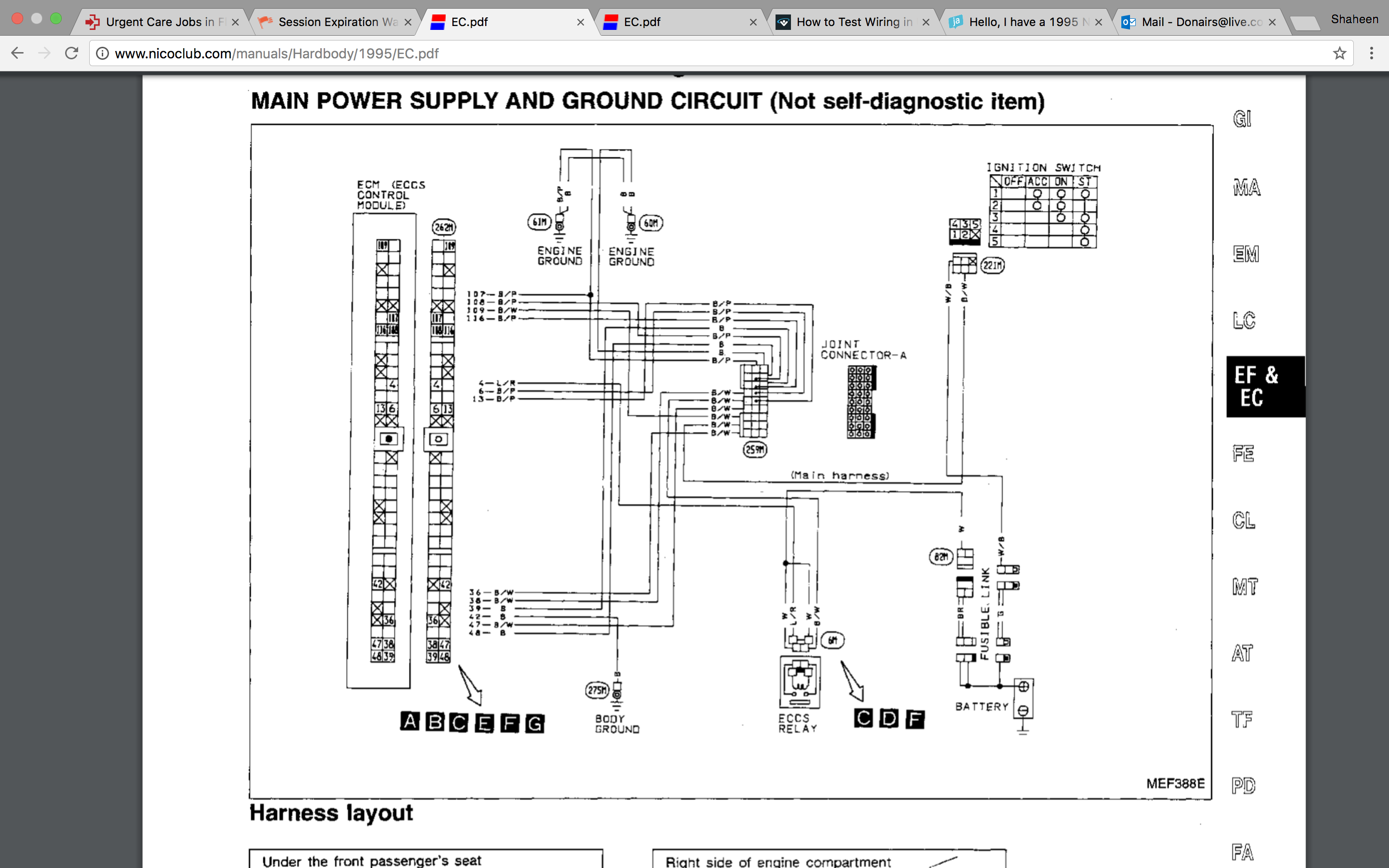 Amp Wiring Diagram For Auto Will Be A Thing 92 Lexus Sc400 I Have 1995 Nissan D21 2 4l M Trying To Figure Out 1992
