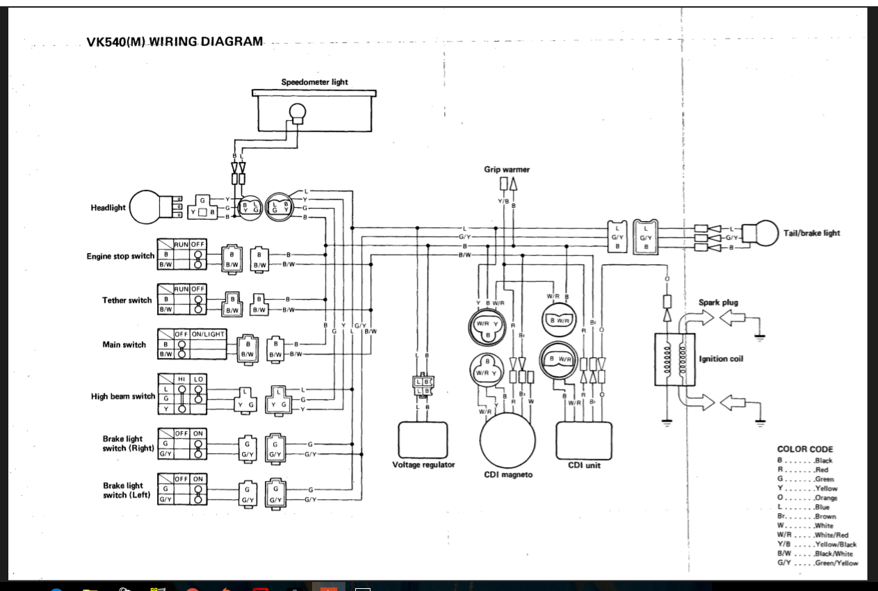 you available right now yamaha vk540 1988 no spark what is a bit rh justanswer com Yamaha Guitar Wiring Schematic yamaha exciter 220 wiring diagram
